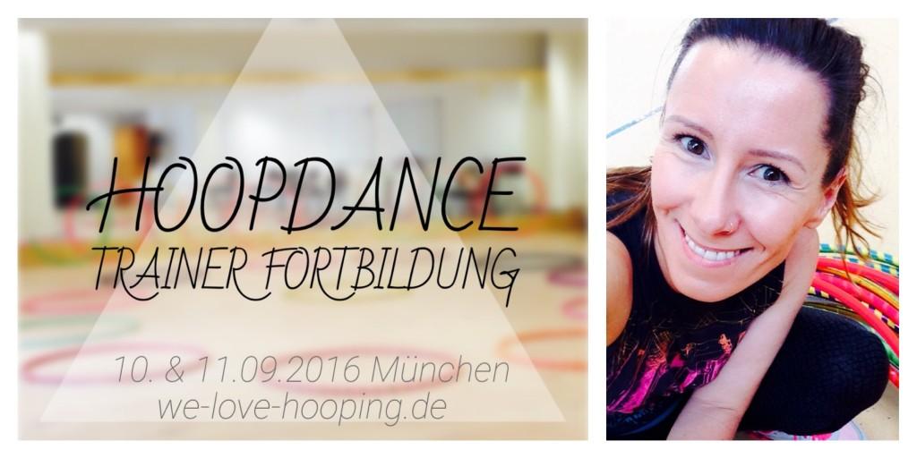 Flyer Hoopdance Hula Hoop Lehrer Trainer Fortbildung